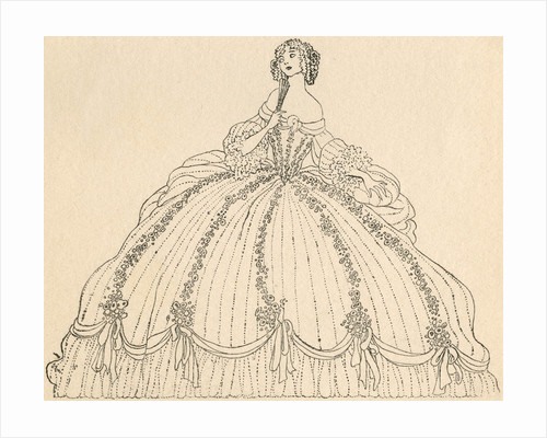 Illustration of Cinderella at the Ball by Jennie Harbour