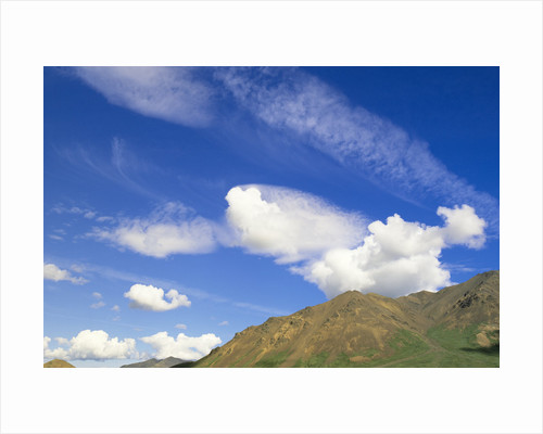 Clouds and Sky Above Mountains by Corbis