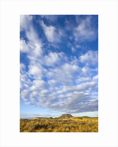 Sky Above Desert Plain by Corbis
