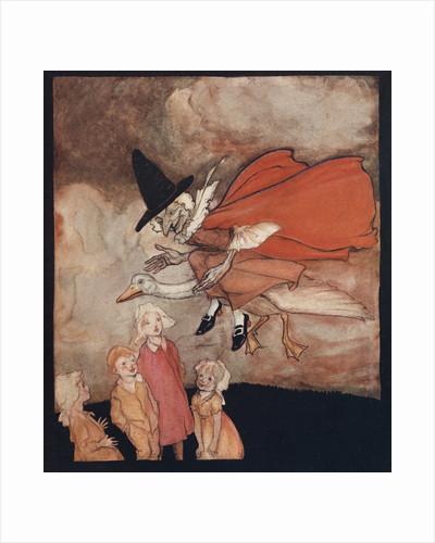 Old Mother Goose Illustration by Arthur Rackham