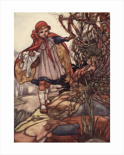 Little Red Riding Hood Illustration by Charles Robinson