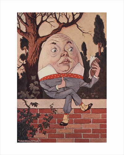 Humpty Dumpty Took the Book, and Looked at It Carefully Illustration by Milo Winter