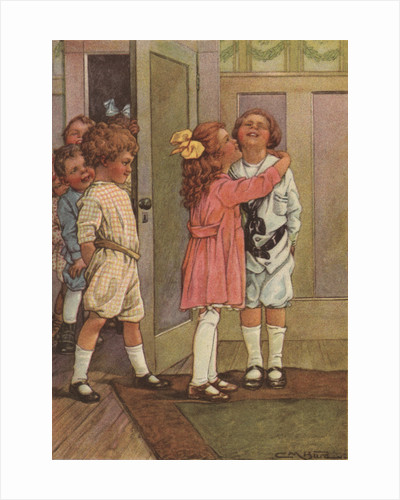 Post Office Illustration by Clara M. Burd