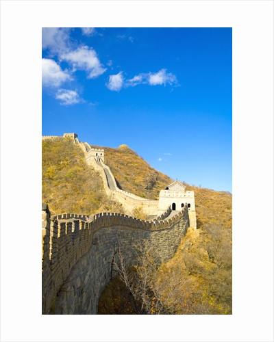 Mutianyu Section of the Great Wall of China by Corbis