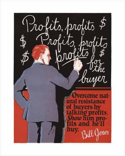 Profits, Profits Motivational Poster by Corbis