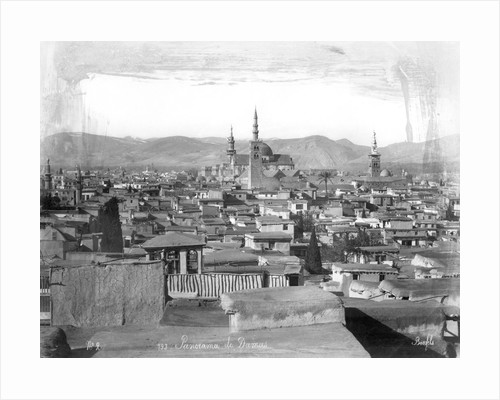 Overview of City of Damascus by Corbis