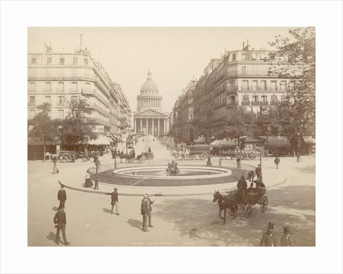 19th Century Paris Street Scene by Corbis