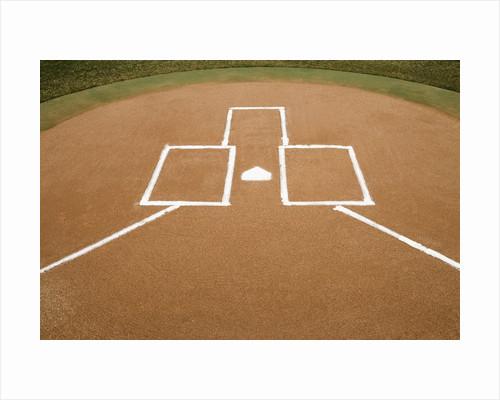 Baseball Diamond by Corbis