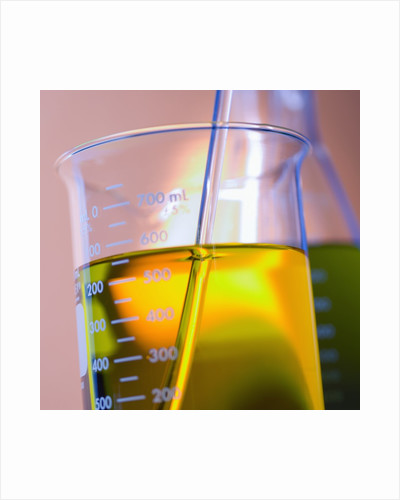 Beaker Filled with Liquid by Corbis