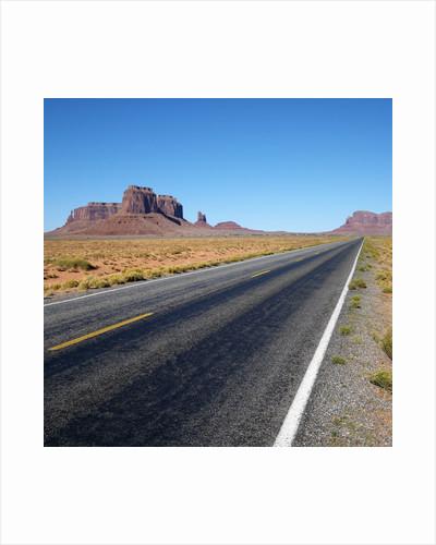 Desert Road by Corbis