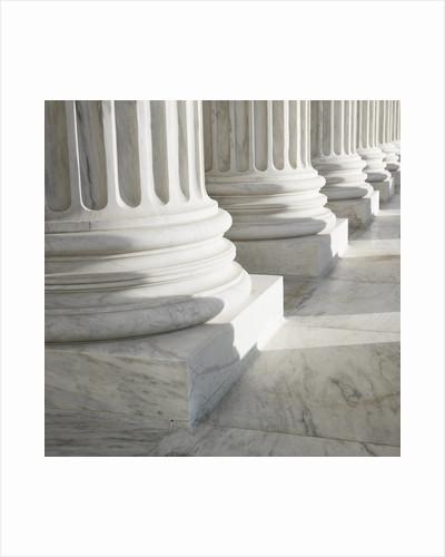 Columns at Supreme Court Building by Corbis