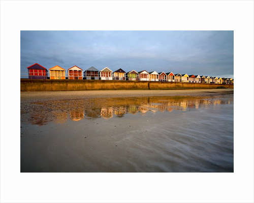 Southwold Beach Huts by Corbis