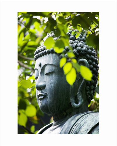 Buddha in Senso-ji Temple Garden by Corbis