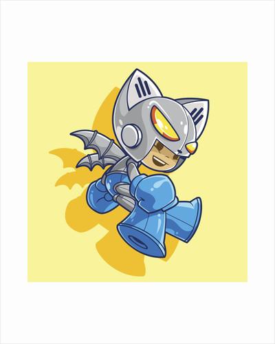 Mega Robo Bat by Tristan Eaton