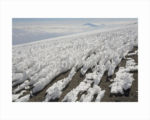 Melting Ice Field on Mount Kilimanjaro by Corbis