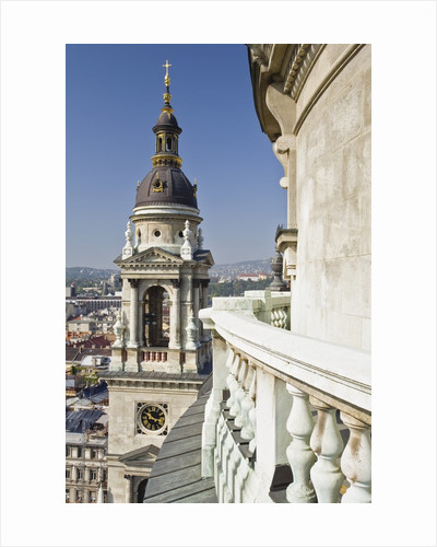 Clock Tower of St. Stephen's Basilica by Corbis