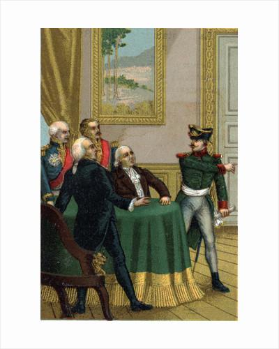 Illustration of Joseph Fouche During the Bourbon Restoration by Corbis