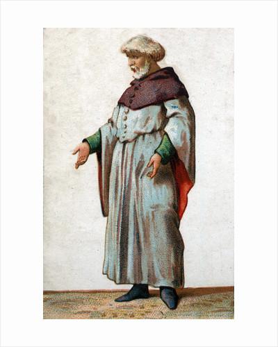 Illustration of Eustache de Saint Pierre, Burgher of Calais by Corbis
