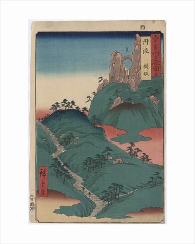 Kanesaka of Tanba by Ando Hiroshige II
