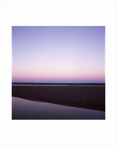 Beach at Twilight by Corbis
