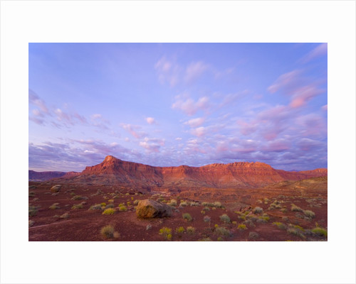 Sandstone Buttes at Dawn by Corbis