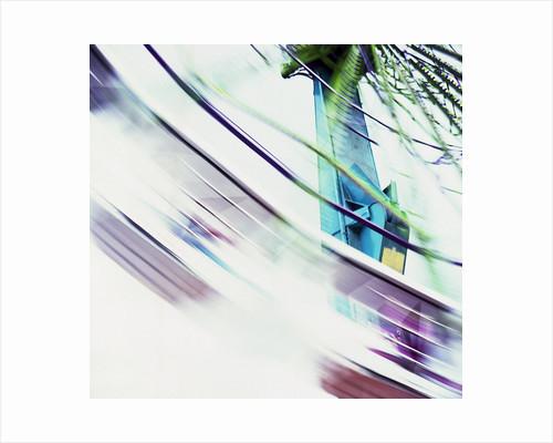 Spinning Amusement Ride at a County Fair by David Roseburg
