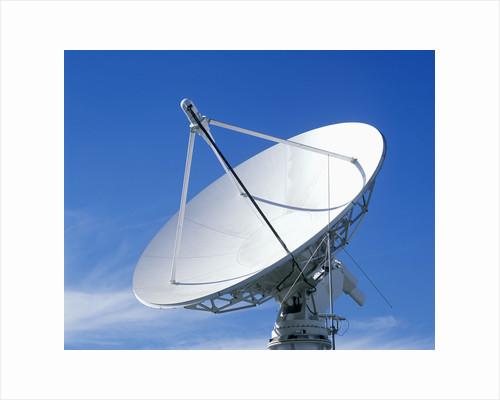 Satellite Communication Antenna by Corbis