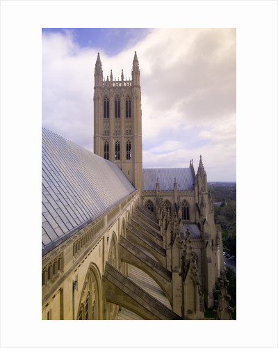 Washington National Cathedral by Corbis