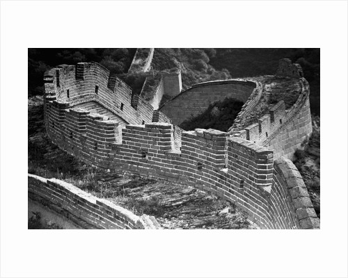Section of the Great Wall in by Corbis