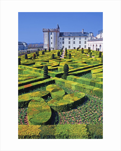 Chateau de Villandry and Garden by Corbis