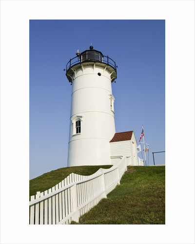 Nobska Point Lighthouse on Cape Cod by Corbis