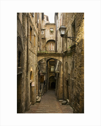 Medieval Street in Perugia by Corbis