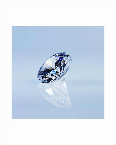 Round Cut Diamond by Corbis