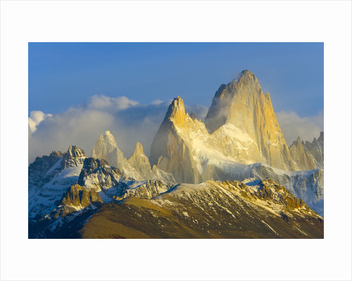 Rugged Mountain Peaks by Corbis