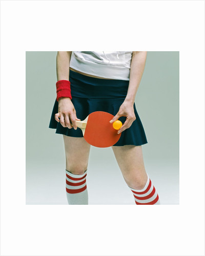 Table Tennis Player by Corbis