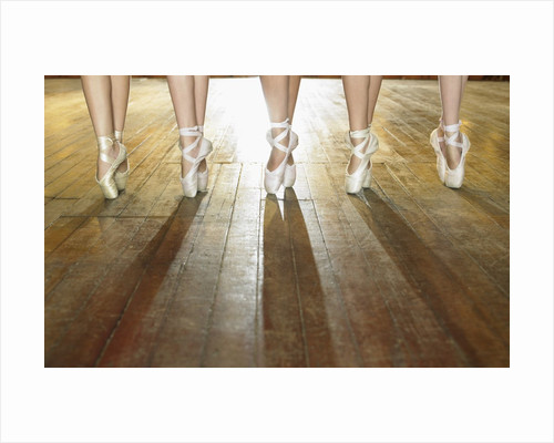 Feet of Ballerinas by Corbis