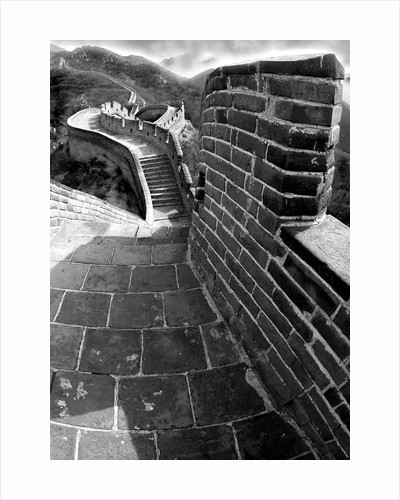 Twists and Turns on Great Wall of China by Corbis