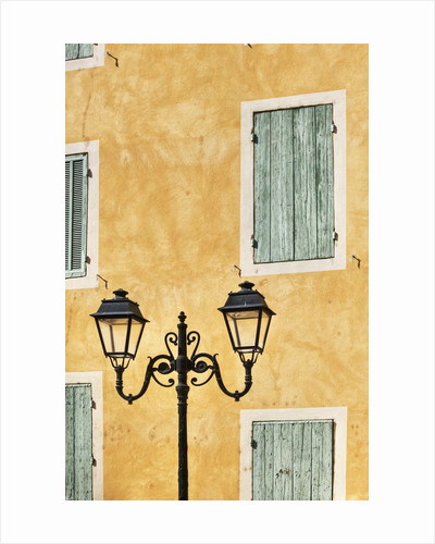 Street Light and Typical Provencal Architecture in Orange by Corbis