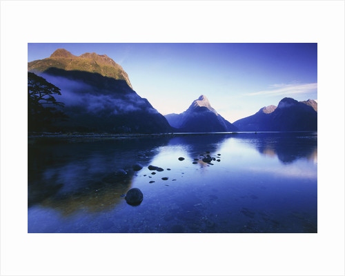 Milford Sound in New Zealand by Corbis