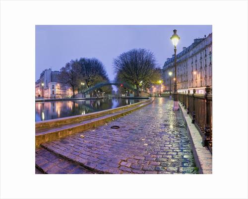Quai de Valmy on Canal St.-Martin by Corbis