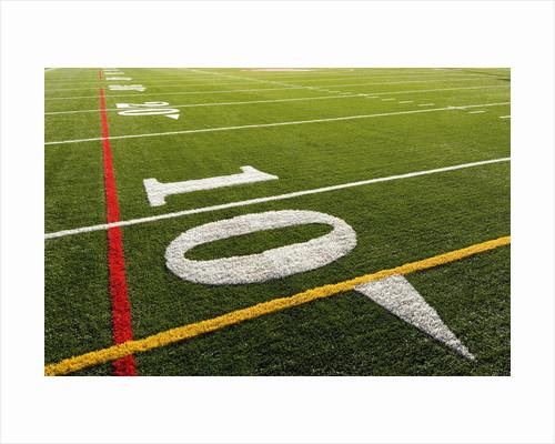 Football Field by Corbis