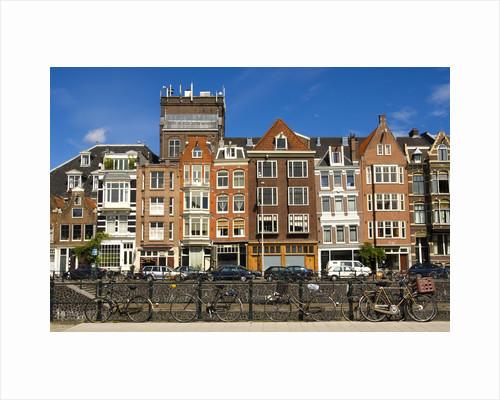 Amsterdam Row Houses by Corbis
