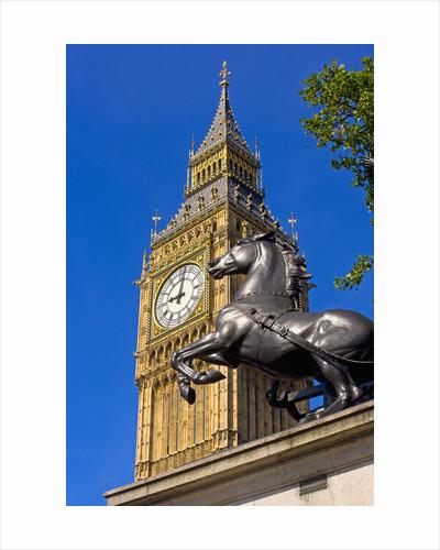 Big Ben Clock Tower by Corbis