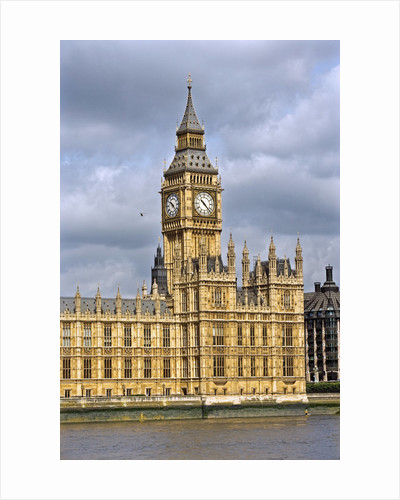 House of Parliament and Big Ben by Corbis