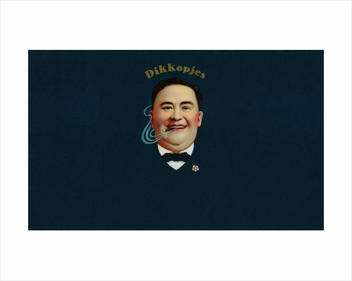 Dikkopjes Cigar Box Label by Corbis
