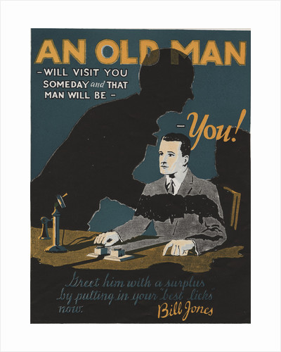An Old Man Motivational Poster by Corbis