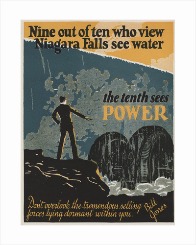The Tenth Sees Power Motivational Poster by Corbis