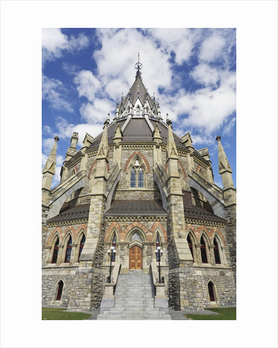 Library of Parliament in Ottawa by Corbis