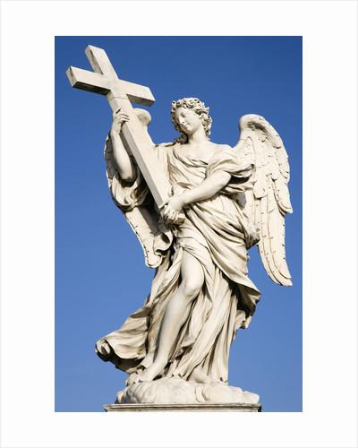Statue of an Angel on Sant'Angelo Bridge by Corbis