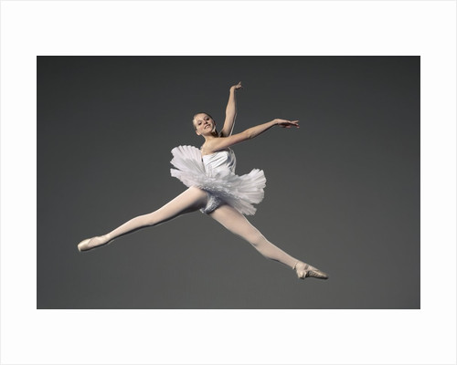 Ballet dancer by Corbis